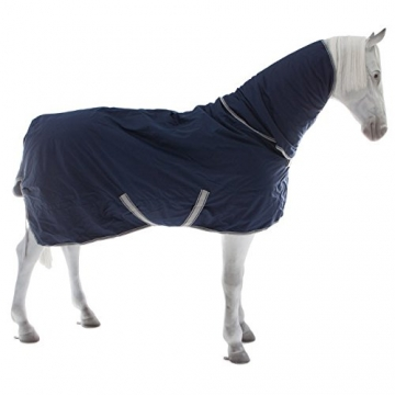 Bucas Freedom Turnout 150/150g Full Neck - Navy, Groesse:135 -