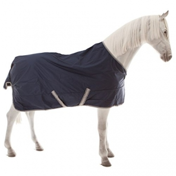 Bucas Freedom Turnout Extra 300g - navy/silver, Groesse:135 -