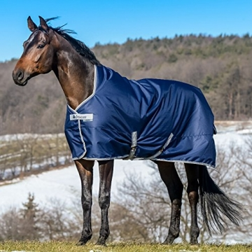 Bucas Freedom Turnout Extra High Neck 300g - navy, Groesse:145 -