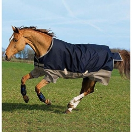 Horseware Amigo Mio Turnout Medium 200g Navy / Tan