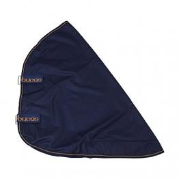 Bucas Irish Turnout Combi Neck, Halsteil, Navy/gold, Grösse L (Rückenlänge 145 cm) -