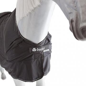 Bucas Power Cooler - black/silver - Abschwitzdecke, Groesse:165 -