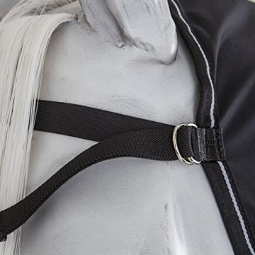 Bucas Power Cooler Full Neck - black/silver, Groesse:165 -
