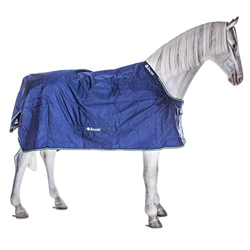 Bucas Smartex Turnout Rain Big Neck 0g - blue, Groesse:135 -