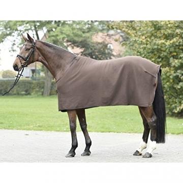 BUSSE Abschwitzdecke BASIC, Rückenlänge 95 cm, dark brown -