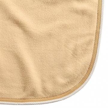 Fleece-Abschwitzdecke Ecoline, Farbe:dunkelbraun;Groesse:125cm -
