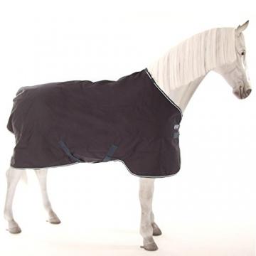 Horseware Amigo Bravo 12 Turnout lite 0g PONY - navy/navy & white, Groesse:90 -