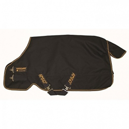 Horseware Amigo Bravo 12 XL Medium Turnout Rug 160cm Navy/Gold -