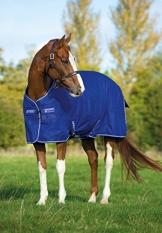Horseware Amigo Turnout Hero 6 600 D lite Atlantic Blue 155 -