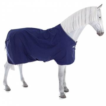Horseware Amigo Turnout Hero-6 medium 200g PONY - Atlantic Blue & Ivory, Groesse:125 -