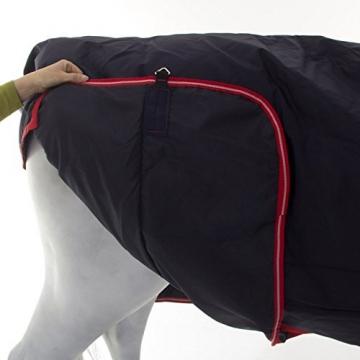 Horseware Rambo Original - Winterdecke oder Regendecke 140cm 200g Füllung navy/red -
