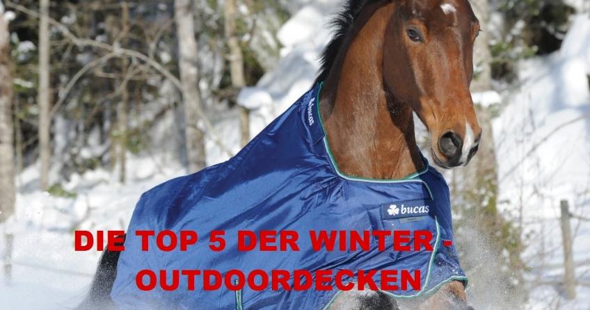 TOP 5 Winter Regendecken für Pferde