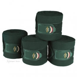 ESKADRON Bandagen FLEECE (Heritage ltd. HW16), racing green, Vollblut/Warmblut -