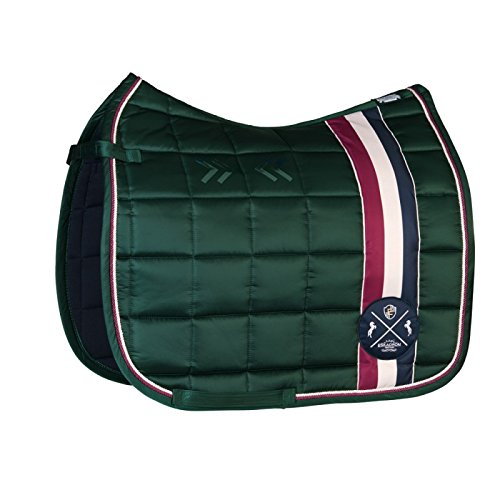 ESKADRON Schabracke BIG SQUARE GLOSSY (Heritage ltd. HW16), racing green, Dressur -
