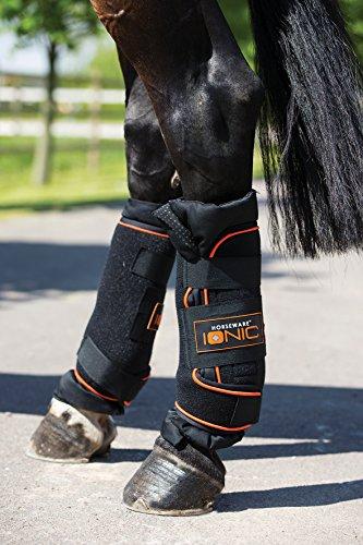 Horseware Rambo Ionic Stable Boots schwarz (FULL) -